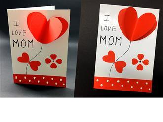 Những chiếc thiệp đẹp nhất tự làm tặng mẹ