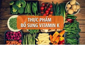 Những thực phẩm giàu vitamin K rất dễ tìm, bạn cần biết