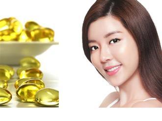 Tất tần tật công thức làm đẹp bằng vitamin e
