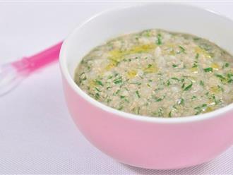 Cách nấu cháo dinh dưỡng cho bé ăn dặm đúng chuẩn từ lúc tập ăn tới 12 tháng tuổi