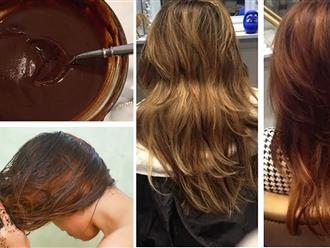 Mách bạn cách nhuộm tóc bằng nguyên liệu tự nhiên vừa đẹp vừa an toàn với chi phí siêu rẻ