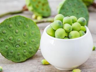 """Tác dụng của hạt sen tươi: Những lợi ích """"diệu kỳ"""" ẩn chứa trong loại hạt thơm ngon"""