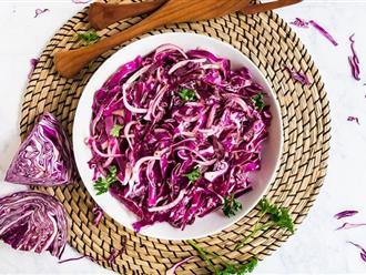 5 cách làm salad bắp cải siêu ngon miệng chỉ trong 10 phút