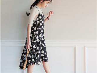 Cách phối đồ với váy yếm vải phù hợp mọi thân hình và lứa tuổi