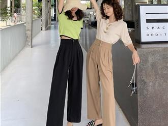 Các quy tắc phối đồ với từng mẫu quần tây nữ lưng cao cơ bản