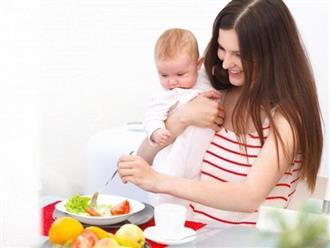 Mẹ sau sinh nên ăn gì để có nhiều sữa mà không tăng cân?