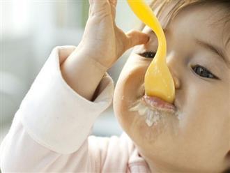 Giải đáp thắc mắc bé 6 tháng ăn sữa chua được không?