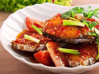 3 công thức nấu cá thu sốt chua ngọt thơm ngon, hấp dẫn cho ngày lạnh