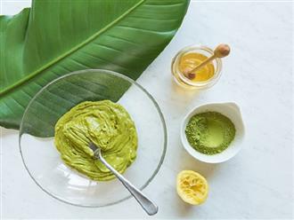 Cách đắp mặt nạ trà xanh hiệu quả với những nguyên liệu dễ tìm