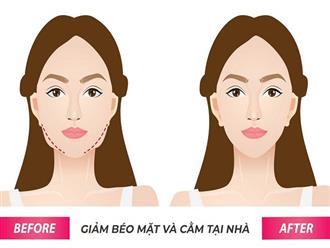 Bật mí những cách giảm mỡ mặt nhanh nhất tại nhà