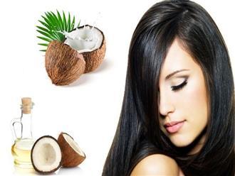 Không nên bỏ qua cách gội đầu bằng dầu dừa cho mái tóc hoàn hảo