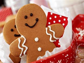 Cách làm bánh quy giáng sinh thơm ngon và đẹp mắt