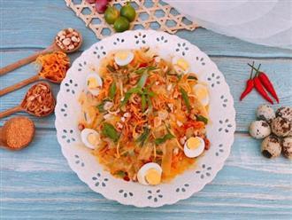 Cách làm bánh tráng trộn ngon chuẩn vị Sài Gòn
