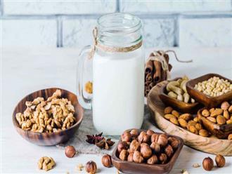 Hướng dẫn cách làm sữa óc chó hạnh nhân đơn giản tại nhà