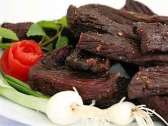Cách làm thịt trâu gác bếp thơm ngon, chuẩn hương vị Tây Bắc