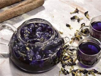 Hướng dẫn cách pha trà hoa đậu biếc đơn giản ngay tại nhà