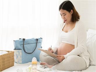 Những dấu hiệu chuyển dạ sắp sinh mẹ bầu nên biết