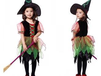 6 Cách hóa trang Halloween cho bé gái độc đáo