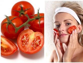 Bí quyết làm đẹp bằng cà chua