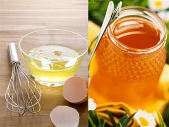 Cách đắp lòng trắng trứng gà với mật ong đúng chuẩn cho làn da đẹp không tì vết