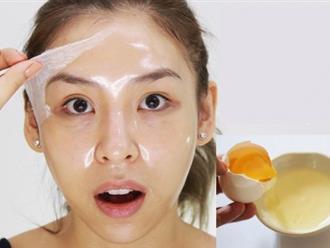Chuyên mục làm đẹp: Đắp mặt nạ lòng trắng trứng gà có tác dụng gì?