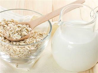 Chuyên mục Làm đẹp: Mặt nạ yến mạch sữa tươi làm trắng da, sáng mịn