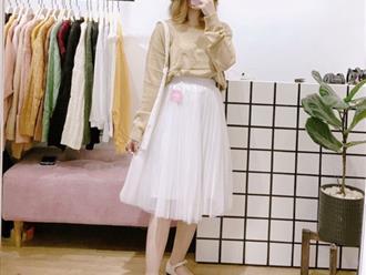 Mách bạn cách mix đồ với chân váy tutu trắng siêu xinh thu hút mọi ánh nhìn