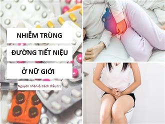 Tìm hiểu về bệnh nhiễm trùng đường tiết niệu ở nữ giới