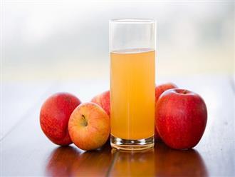 Nước ép táo có tác dụng gì? Uống nước ép táo sao cho đúng cách?