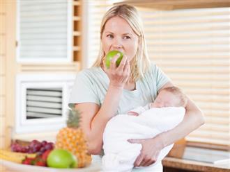 Phụ nữ sau sinh nên ăn quả gì để tốt cho cả mẹ và con