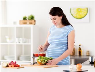 Gợi ý thực đơn đầy đủ dinh dưỡng cho bà bầu 3 tháng giữa