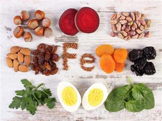 8 thực phẩm bổ sung sắt cho bà bầu đủ dưỡng chất