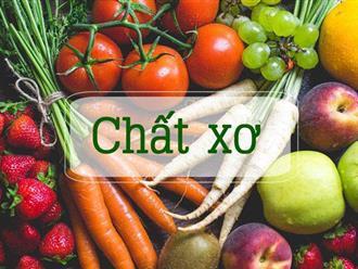 Danh sách thực phẩm giàu chất xơ tốt cho sức khỏe và giảm cân