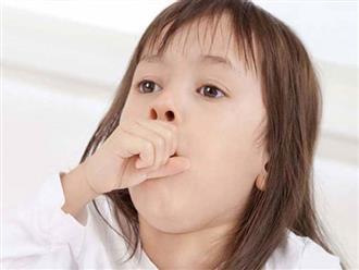 Trẻ ho nhiều phải làm sao, phương pháp trị ho cho bé an toàn