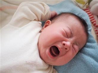 Mẹo khắc phục tình trạng trẻ sơ sinh quấy khóc không chịu ngủ