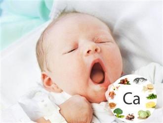 Dấu hiệu trẻ sơ sinh thiếu canxi và cách khắc phục