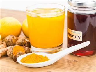 Những lợi ích không ngờ khi uống tinh bột nghệ với mật ong
