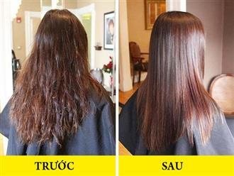 """""""Bỏ túi"""" 5 bí quyết xả thẳng tóc uốn đơn giản không cần dùng thuốc duỗi"""