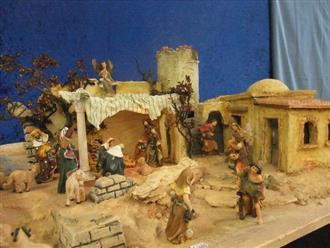 Các mẫu hang đá Giáng sinh mini đẹp nhất mùa Noel