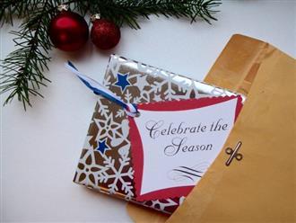 Cách làm thiệp Giáng sinh handmade đơn giản mà đẹp nhất