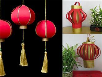 Cách làm đèn lồng ngày Tết mang sung túc vào nhà
