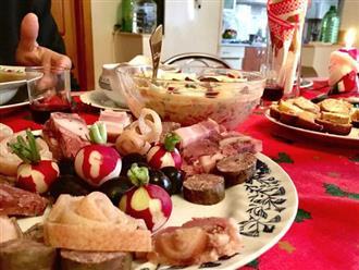 Những món ăn truyền thống không thể thiếu trong ngày lễ Giáng sinh