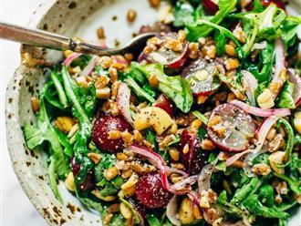 Cách làm salad rau trộn giảm cân: Dễ đến mức đớn xưng đớn xỉa cũng làm được