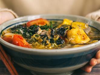 Cách nấu bún ốc ngon đậm đà hương vị Hà Nội xưa
