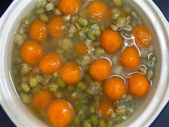Cách nấu chè bí đỏ đậu xanh bổ dưỡng tốt cho sức khỏe