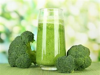 Cách làm sinh tố bông cải xanh thơm ngon dễ uống giúp giảm cân