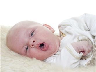 Trẻ sơ sinh bị ho nghẹt mũi phải làm sao?