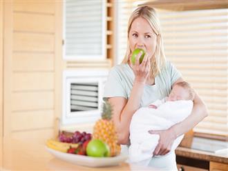 Mẹ sau sinh ăn được trái cây gì để tốt cho sự phát triển của con?