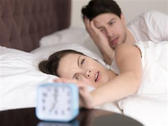 """Thiếu ngủ làm giảm hứng thú """"yêu"""" tần suất quan hệ giảm rõ rệt"""
