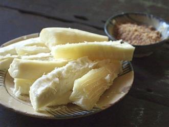 Ăn sắn có béo không và hướng dẫn cách dùng sắn giảm cân